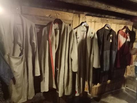 Clothes of Balti locals